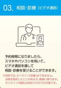 相談・診療(ビデオ通話)
